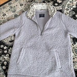 Abercrombie fleece quarter zip